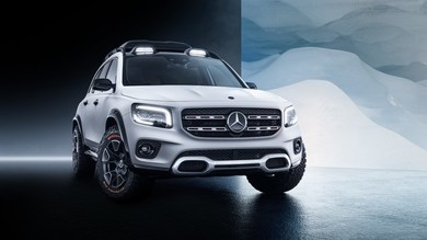 Mercedes, il Suv GLB Concept presentato al Salone di Shanghai