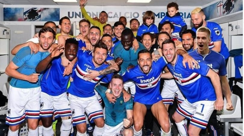 Praet all'antidoping dopo Sampdoria-Genoa: Photoshop colma l'assenza