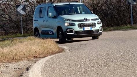 Nuovo Citroen Berlingo Blue HDI: il test VIDEO