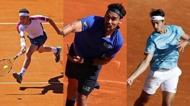 Tennis, Montecarlo: Cecchinato e Fognini al secondo turno. Sonego batte Seppi nel derby azzurro