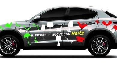 Hertz protagonista alla Milano Design Week con Alfa, Fiat e Maserati