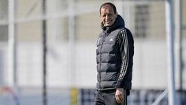 Allegri: «Juve, contro l'Ajax dovremo essere iene»