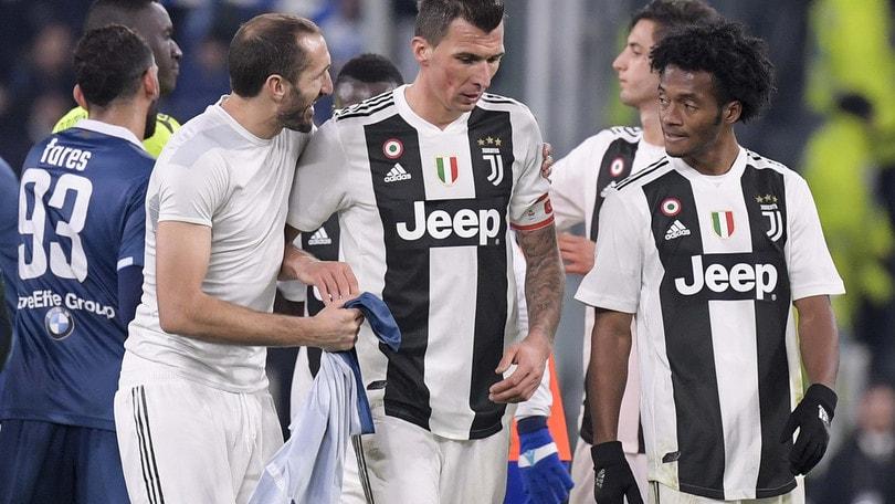 Champions League Juventus, i convocati per l'Ajax: out Chiellini e Mandzukic