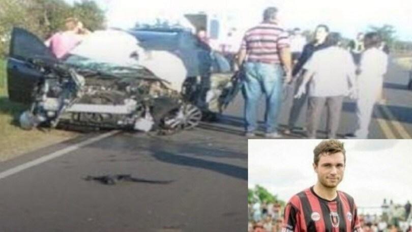 Argentina, incidente in auto: muore un calciatore amico di Sala