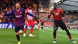 Diretta Barcellona-Manchester United ore 21: dove vederla in tv e formazioni ufficiali
