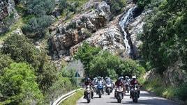 Il raid di InMoto in Sardegna