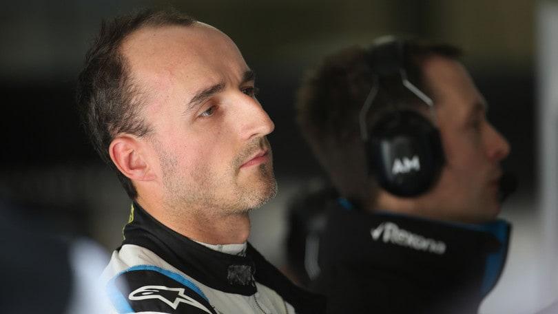 F1 Williams, Kubica: «Mi manca completamente il grip»