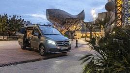 Mercedes Classe V, il test su strada del Van di lusso