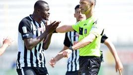 Serie B, due turni di squalifica per Addae dell'Ascoli