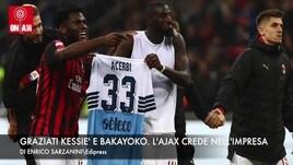 Milan-Lazio, Kessié e Bakayoko graziati. Champions, l'Ajax ci crede