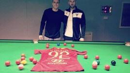 Roma, El Shaarawy «sfida» Trump. Manoli: «Stephan un talento a snooker»