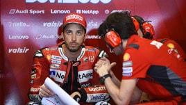 MotoGp Ducati, Dovizioso: «Per il titolo è lotta a quattro»