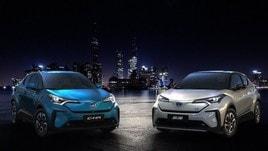 Toyota C-HR, debutto per il Suv elettrico al Salone di Shanghai