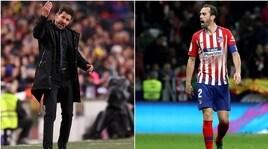 Atletico Madrid, Simeone cerca l'erede di Godin: 4 sono della Serie A