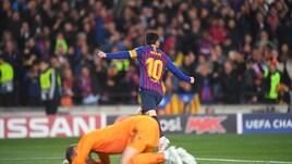 Red Devils 'Messi' a tappeto dalla Pulce