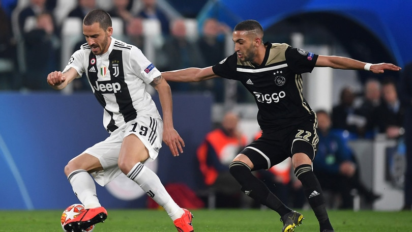 Champions League Juventus-Ajax 1-2, il tabellino