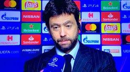 Juve, Agnelli: «Complimenti all'Ajax. Allegri resta»