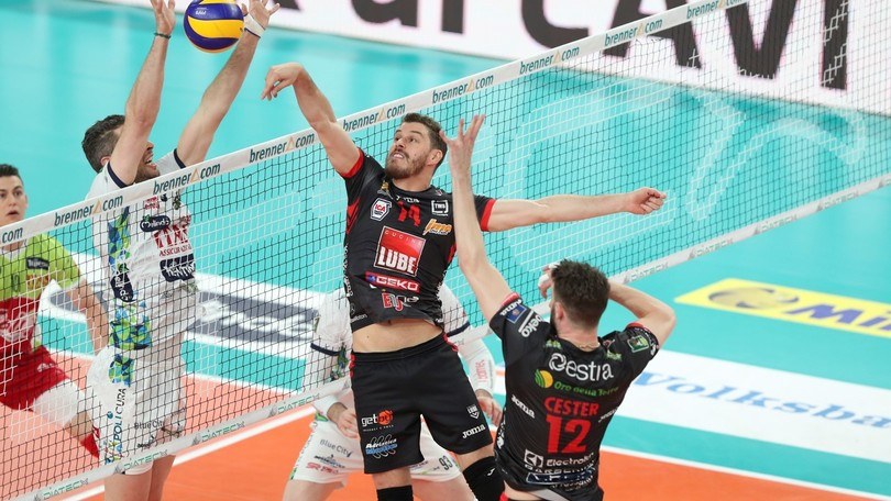 Volley: Superlega, Gara 1 Semifinali Play Off: vincono Perugia e Civitanova