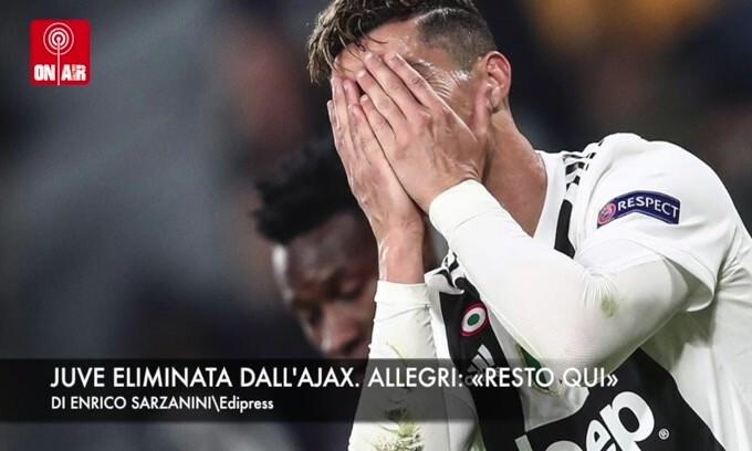 Champions: Juve eliminata! Allegri annuncia: «Resto in bianconero»