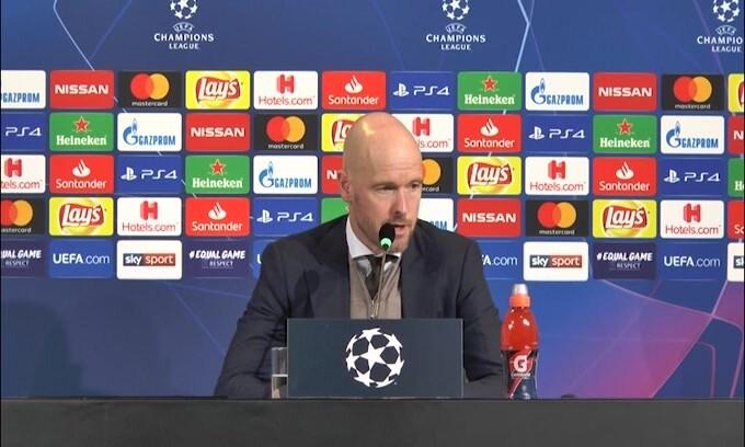 "Ten Hag: ""Serata indimenticabile per l'Ajax"""