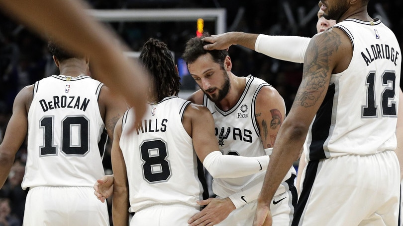 Nba, playoff gara-2: San Antonio perde a Denver