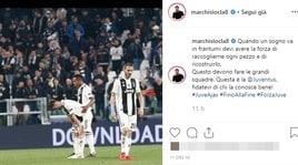 Juve, Marchisio: «Sogno in frantumi? Si pensi a ricostruirlo»