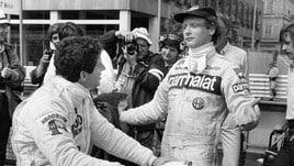 F1 amarcord Ferrari, Jody Scheckter in visita a Maranello