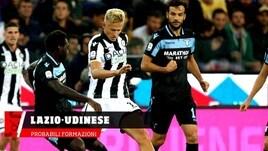Lazio-Udinese, le probabili formazioni