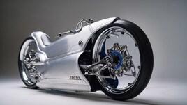 Fuller Moto 2029, l'avveniristica due ruote del futuro