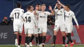 Europa League, Valencia-Villarreal: Marcelino avanti a 1,01
