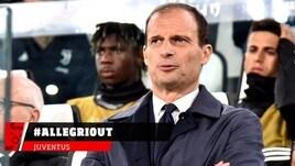 Juventus, I tifosi esonerano Allegri