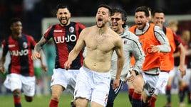 Serie A Bologna, Destro in parte con il gruppo