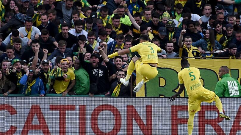 Ligue 1, Psg: ko contro il Nantes e festa rimandata