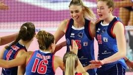 Volley: con Gara 1 fra Scandicci e Novara partono le semifinali