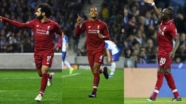 Champions League: Liverpool tritatutto. Contro il Porto finisce 4-1