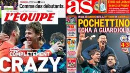 Champions, la stampa estera: