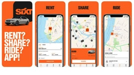 SIXT, una app unica per tutti i servizi