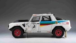 Lamborghini LM002: le foto della Rally Dakar 1987