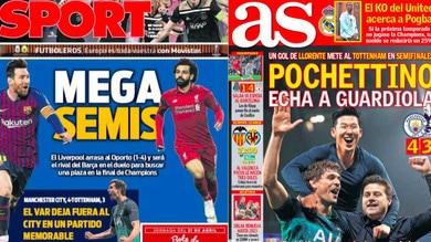 Champions, la stampa estera: «Flop Guardiola in una partita da pazzi. Che sfida Messi-Salah»