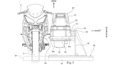 Kawasaki, in arrivo Ninja elettrica con batteria rimovibile?