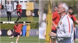 Ranieri mette la barriera e la Roma calcia: gara di tiri