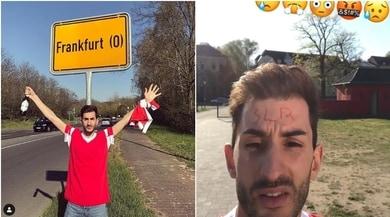 Tifosi del Benfica in viaggio per Francoforte ma... sbagliano città!