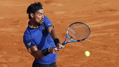 Tennis, Montecarlo: uno straordinario Fognini batte Zverev e vola ai quarti