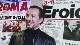 Stefano Accorsi al Corriere dello Sport, il backstage