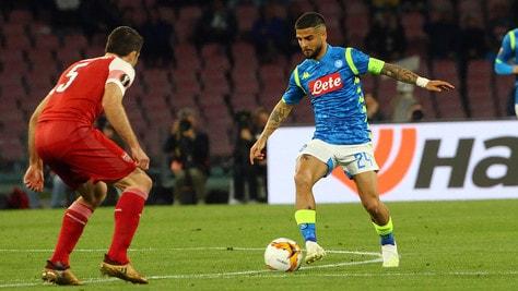 Europa League Napoli-Arsenal 0-1, il tabellino