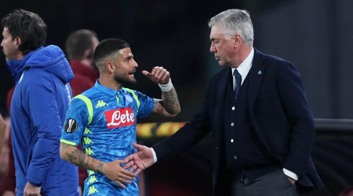 <p>Le foto del capitano azzurro sostituito al 60' da Younes durante la sfida di ritorno con l'Arsenal in Europa League</p>