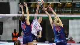 Volley: A1 Femminile, Scandicci ferma Novara e va 1-0