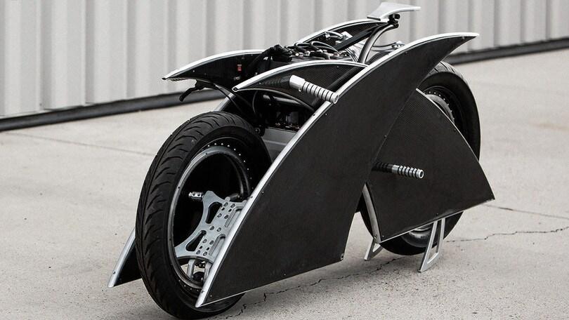 Racer-X, l'elettrica special di Mark Atkinson