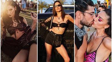 I look sexy e hippie delle vip al Coachella