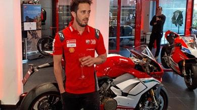 MotoGp Ducati, Dovizioso: «Massima stima per quello che fa Rossi»